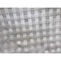 Bitumen Coated PET Geotextile Geocomposited Glass Fiber yarn / Polyester Yarn