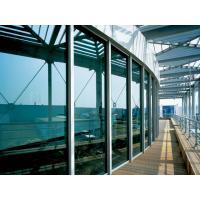 Light grey, light blue maximum size 2440 * 3660 mm glass curtain walls for curtain wall
