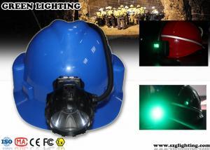 China 6.8AH Panasonic Battery Coal Miners Headlamp on sale