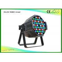 China Led 54 3w Par Light High Power 3 Watt Led 54x3w Rgbw Led Par 64 Cast Aluminum House Led Par Cans on sale