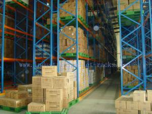 China Pallet Weight 2200 LBS X Two Pallets Per Level Selective Pallet Racks In  Bulk Rack Warehouse on sale