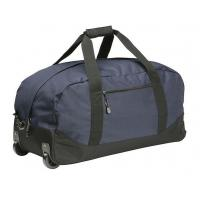 China High Density Wheeled Duffle Bag Luggage , Rolling Duffle Bag With Shoulder Strap on sale