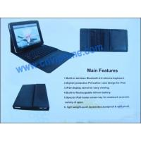 Bluetooth Laptop Keyboard With Leather Case For 10 Inch IPad Keyboard