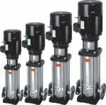 Vibration Proof Vertical Multistage Pump , Vertical High Pressure Pump Fit Water Treatment
