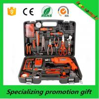 Custom Electric Drill Tool Kit Machinery Tool With Combination Plier / Utility Knife