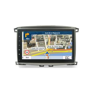 China In Dash Automobile Dvd Player Toyota GPS Navigation Land Cruiser 100 1998-2007 on sale