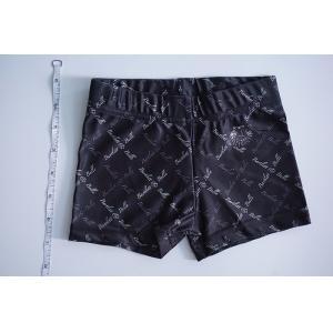 China Skin Tight Black Girls Short Leggings , Good Stretch Short Leggings For Toddlers on sale