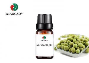 China Natural Synthetic Aroma Pure Essential Oils Pressing Edible Crude Mustard on sale