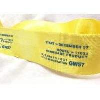 Eco - Friendly Narrow Nylon Elastic Woven Tape Woven Name Tapes 30D / 50D / 100D Yarn