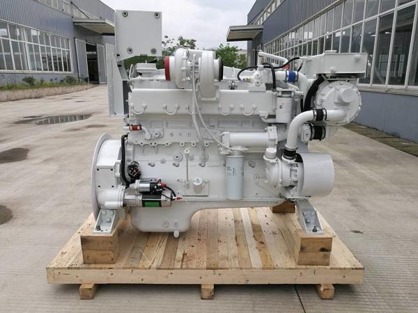Continuous duty!cummins NTA855-M350 diesel inboard engine