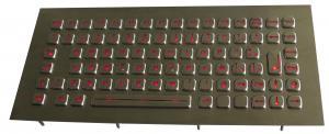China Custom Backlight Marine Keyboard Compact Format With 87 Keys , function keys on sale