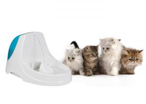 China Eco Friendly ABS Automatic Pet Water Fountain 3.6 L DC 110V 5V Input on sale