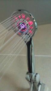 China Digital Led Shower Head mold in Bathroom ABS Sprinkler Mould Manufacturer on sale