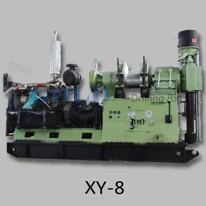China Deep dcoring drilling rig XY-8, water bore well drilling rig, shallow oil well prospecting on sale