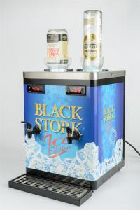 Quality Double Bottle Liquor Chiller Machine , Shot Cooler Dispenser For Hotels for sale
