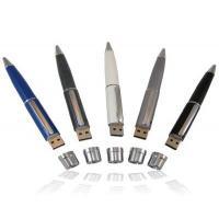 Micro Metal Pen Drive Memory Stick , 16 Gig Flash Drive Silver