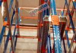 Movimentação high-density da indústria de leiteria no tipo de canal do racking 2000 quilogramas de capacidade máxima