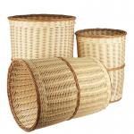 seagrass/bamboo/wicker/PE rattan/wood chip/reed basket