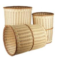 China seagrass/bamboo/wicker/PE rattan/wood chip/reed basket on sale