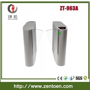 China stainless steel access control swing turnstile/ rfid turnstile gate on sale
