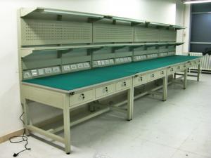 China Bancadas industriais da gaveta e estações de trabalho industriais, azul/verde on sale