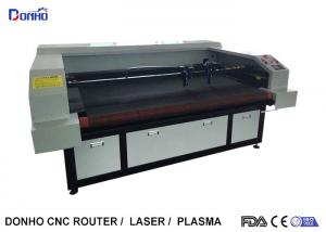 China Auto Feeder Four Laser Heads Fabric Laser Cutting Machine For Multi Picture Engraving on sale