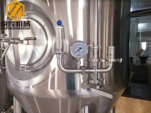 China Stainless Steel Beer Fermentation Tanks , 5HL Cylindro Conical Fermenter on sale