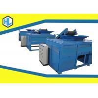 Metal / Steel Scrap / Pvc Waste Shredder Machine High Capacity 21 RPM Shaft Speed
