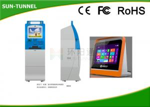 China High Resolution Cash And Cheque Deposit Machines , 250cd / M2 Bank Atm Kiosk Machine on sale