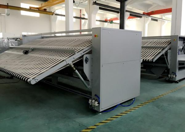 d0e327b29e5 Stainless Steel Bedsheet Folding Machine Fabric Folder ISO14001 ...