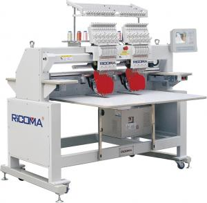 China electric Multi-head computer embroidery machine of Daohao electronic control on sale