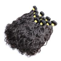 Natural Wave Brazilian Human Hair Bundles For Black Women Long Hair / Shedding Free