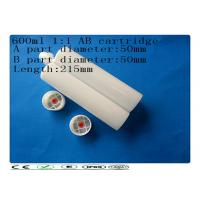China Two component 600ml 1:1 adhesive barrel , industrial AB glue cartridge on sale