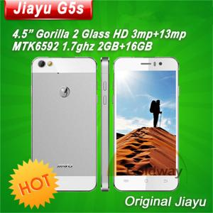 """China MT6592 1.7Ghz octa-core 2GB RAM+16GB ROM 4.5"""" IPS OGS Screen Android 4.2 jiayu mobile phone Jiayu G5S on sale"""