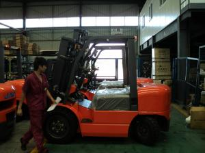 JAC Brand H Series Warehouse 4T Diesel Forklift Truck With ISUZU ...