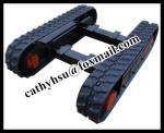 Custom Built Rubber Track Undercarriage with Load Capacity 1-60ton