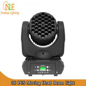 China Hotsale 36pcs x 3w beam led dj light CREE LED beam moving head light for DJ Disco Bar on sale