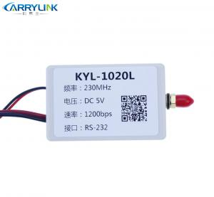 China 200L 500mW RF Transmitter Module With Shell 433-470MHz RS232 RS485 Interface on sale