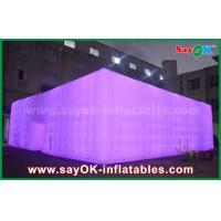 Oxford Cloth White Outdoor Giant Inflatable Led Cube Event Tent for Party
