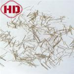 0.2x13mm Cutting Micro RPC Copper Plating Steel Fiber For Shotcrete