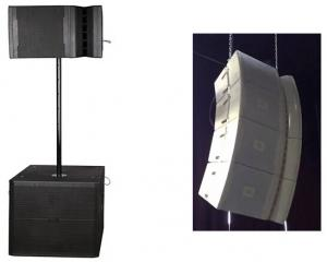 China 600 Watts 100 Degree Concert Sound System Single 12inch Vertical Speaker Array on sale