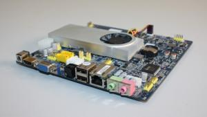 China Intel ATOM D525 Dual-Core1.8G Mini ITX Mainboards With Two MINI-PCIE Slots PT-ION2 on sale