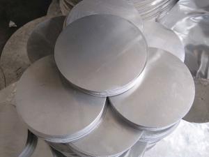 China Mill Finish Polished Aluminium Circle , High Moisture Aluminum Round Sheet on sale