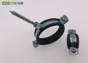 China Heavy Duty Steel Pipe Clamps For Cast Iron Pipe ISO Standard Cast Iron Pipe Clamps on sale