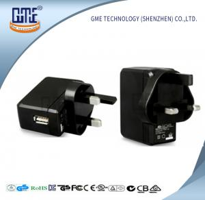 China UK Plug Universal USB Power Adapter 12 Months Warranty For Audio Equipment on sale