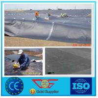 GB Standard 0.5mm HDPE Geomembrane Black UV Resistance For Pond Liner
