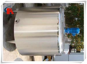 China Biotechnology Stainless Steel Mixing Tanks , Steel Water Tank Optimized Diversion Design on sale
