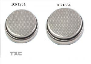 China Lithium ion Button Cell For Blue Tooth Phone , Lithium Coin Cell Battery on sale