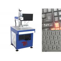 Keyboard Laser Printing Machine , Laser Marking Machine For Keyboard
