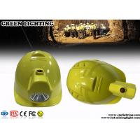 China Lithium Ion Safety Mining Led Lights , 1W LED Coal Miner Hard Hat Light  on sale